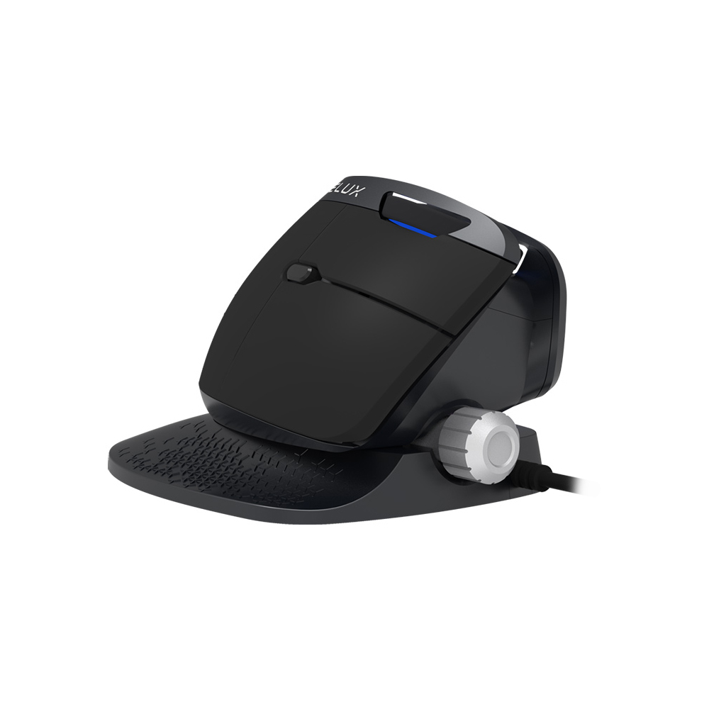 Delux M618X Wired Mouse Ergonomic Vertical Optical Mouse USB Port for PC Laptop