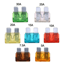 цена на 120pcs Car Blade Fuse Set Standard Assorted Fuses 5 Inline Fuse Holders Automotive Replacement Fuses for Car Truck SUV RV Boat