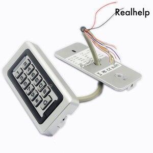 Image 4 - Clavier de contrôle daccès RFID, 2000 utilisateurs, en métal et acier inoxydable, étanche IP68, lecteur de cartes pour lextérieur, sécurité 12V/24V DC et AC