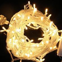 10M 8 Modes 100 LED Light String Warm Lighting Strings Water