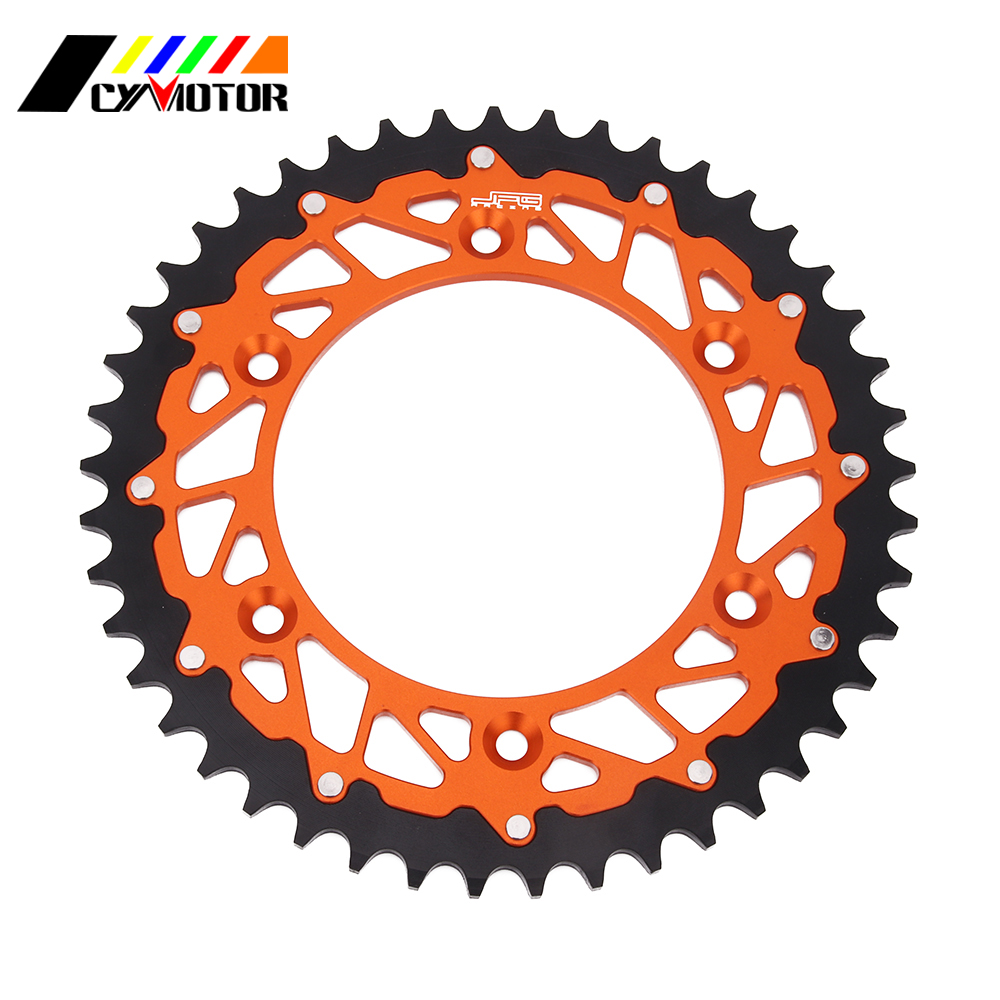 Motorcycle 42 45 48 50 52 Rear Chain Sprocket For KTM EXC EXE SX MX SXF