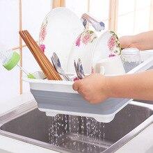Égouttoir à vaisselle pliable pour cuisine