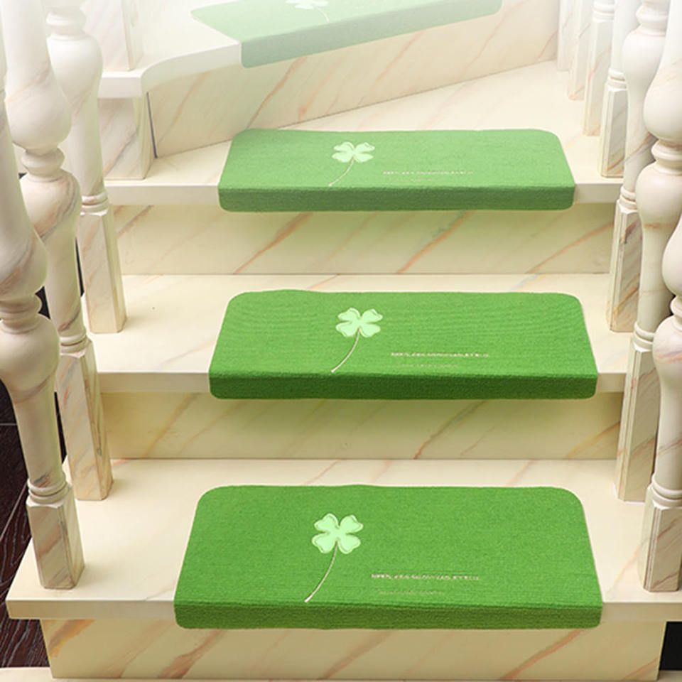 Non Slip Stair Treads Home Small Carpet Solid Wood Floor Mat Free   Small Carpet For Stairs   Stair Case   Carpet Runners   Stair Tread   Berber Carpet   Hardwood