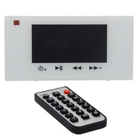 Home Audio system,Bluetooth digital stereo amplifier, in wall amplifier with touch key, 60W Dual Digital Amplifier Design