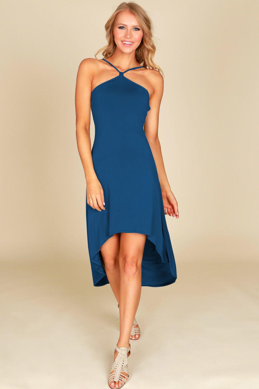 Summer Womens Ladies Sleeveless Beach Party Midi Dress -9197