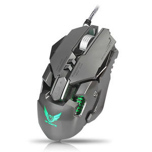 Image 3 - السلكية الألعاب ماوس 3200 ديسيبل متوحد الخواص USB المهنية الألعاب الميكانيكية الفئران 7 مفتاح ماكرو تعريف برمجة لعبة الفئران ل ألعاب الكمبيوتر