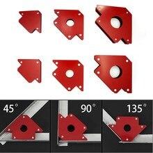 6 шт., магнитный держатель для сварки с несколькими углами, магнитный зажим для сварки, 2 шт., 50 фунтов, 2 шт., 25 фунтов, 2 шт., 75 фунтов, Mig инструменты