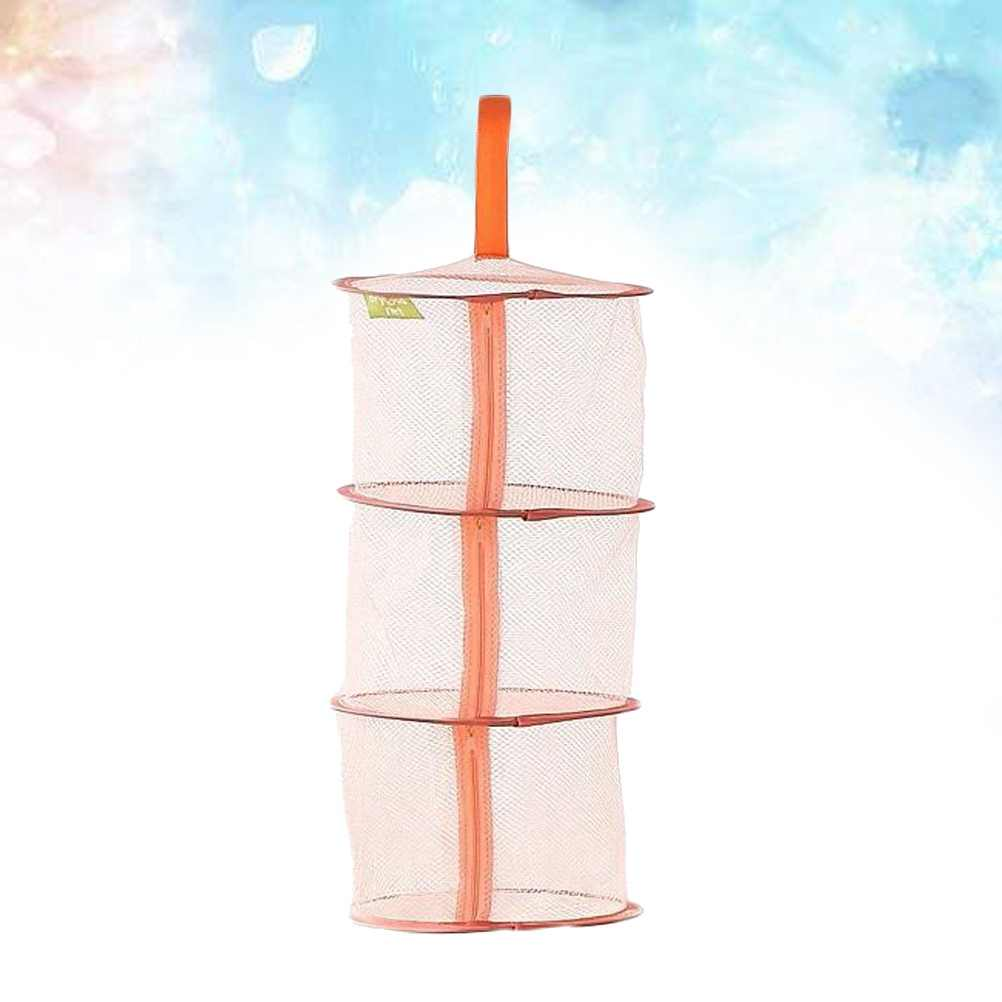 1 шт. подвесная корзина творческий лоток уровня ветрозащитный 3-х слойная сушилка для белья Сушилка Сетчатое нижнее белье сушилка для бюстгальтер, носки, нижнее белье