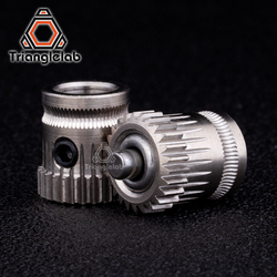 trianglelab inner diameter 8 mm Drivegear kit dual drive gear extruder kit Cloned Btech upgrade for Prusa i3 Bowden Extruder
