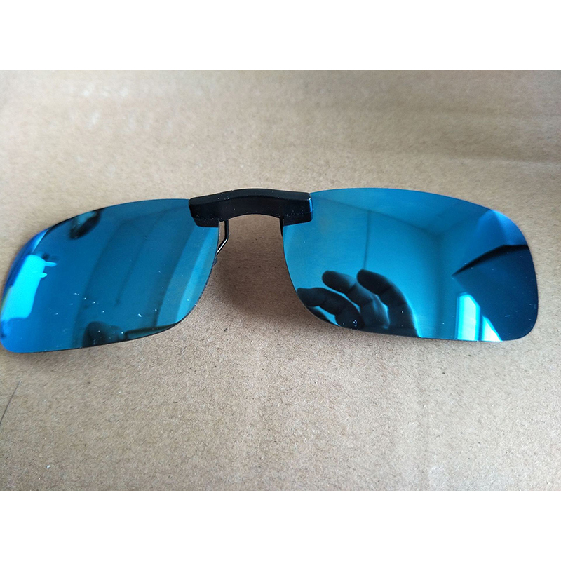 RS POLARISED OVER GLASSES SUNGLASSES BLACK WRAP AROUND SUN SHIELDS Night Driving