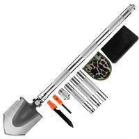 Multi Camping Shovels Survival Tools Folding Detachable EDC Utility Shovel