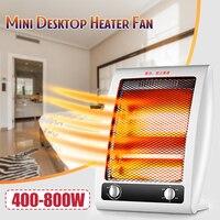 400W 800W Electric Heater Mini Fan Heater Desktop Household Handy Heater Radiator Warmer Machine Low Noise For Winter