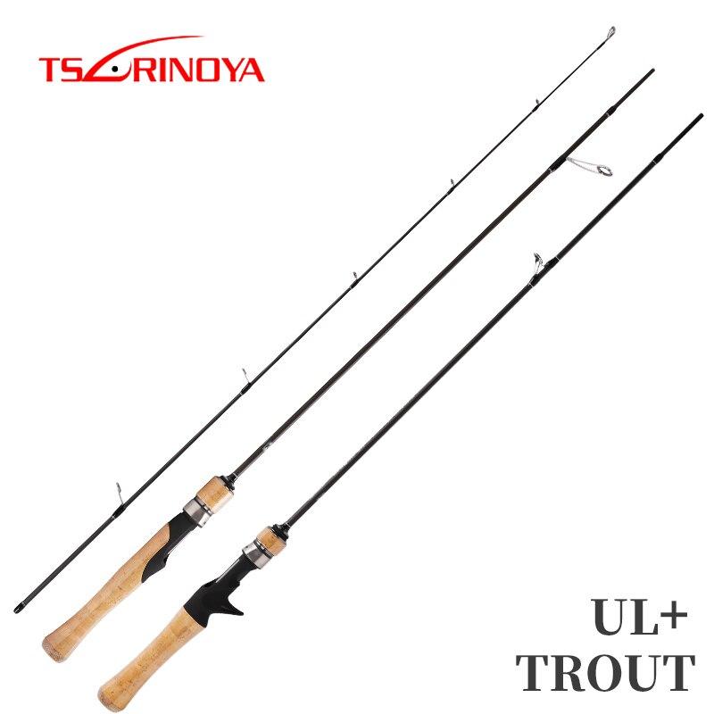TSURINOYA canne à pêche DRAGON 1.82 m 1.52 m UL puissance filature coulée leurre tige souple en carbone canne à pêche truite tige