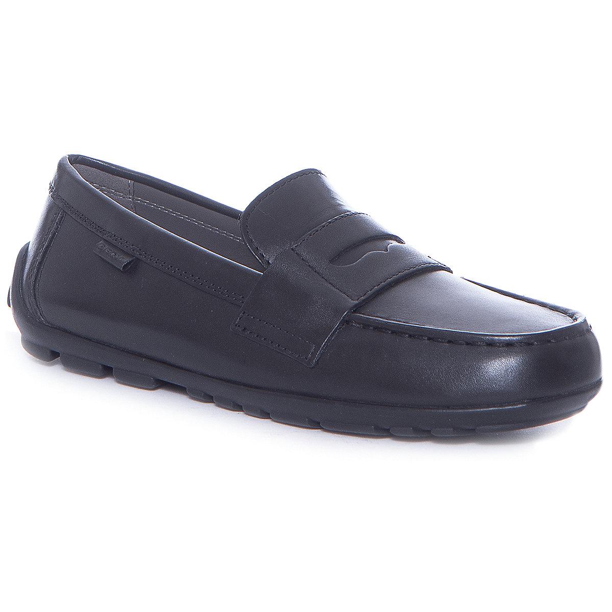 GEOX Children Casual Shoes 8786617 Boys for boy childrens spring/summer Leather school shoes MTpromo miyagina high quality genuine leather women shoes female casual fashion flats spring autumn driving shoes women leather loafers