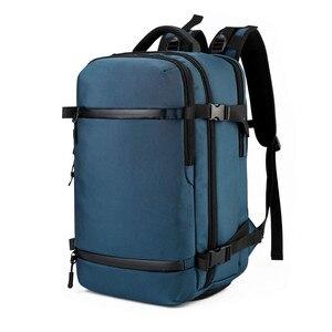 Image 5 - على ظهره الرجال السفر حقيبة ظهر الذكور الأمتعة على ظهره USB سعة كبيرة متعددة الوظائف للماء حقيبة كمبيوتر محمول النساء