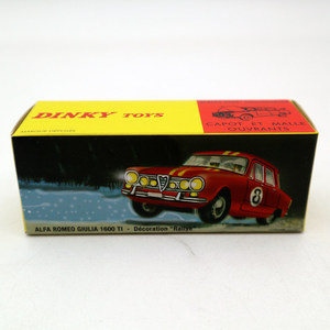 Image 5 - 1:43 Atlas Dinky Toys 1401 ALFA ROMEO 1600 TI Rally #8 Diecast Models Limited Edition Collection
