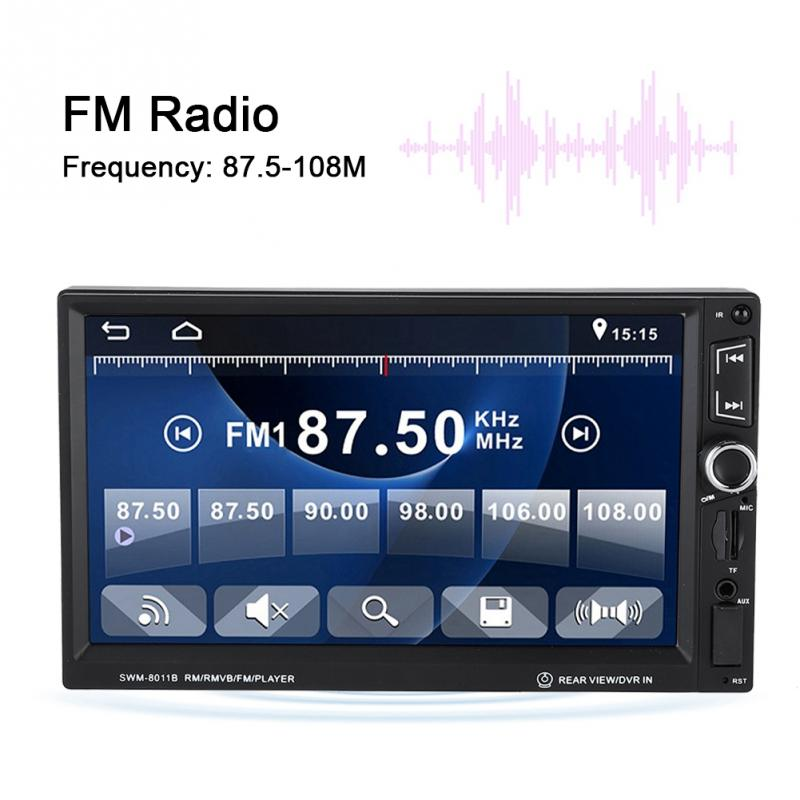Methodisch 7 Inch Auto Video Player Bluetooth Touchscreen Mp5 Radio Hd Player Online Shop Mp4 Player