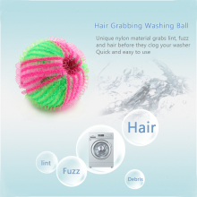 6PCS Magic Hair Lint Fluff Removal Laundry Ball For Washing Machine