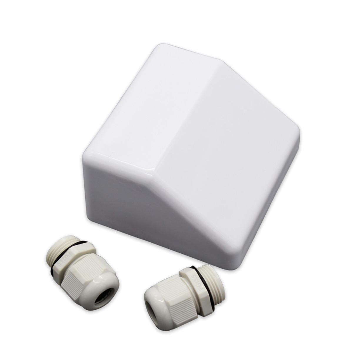 Kit de support de montage de panneau solaire ABS blanc de 7 pièces/ensemble Gand d'entrée de câble idéal pour caravane camping-car - 6
