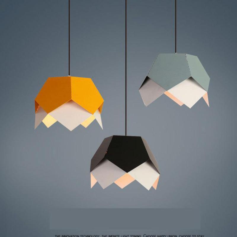 Nordic 1 pcs kitchen lighting suspension lamp Restaurant checkout counter Colore