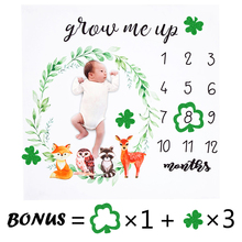 Детское одеяло с цветочным рисунком и животным, милое мягкое одеяло для новорожденных, полотенца для купания, сделай сам, детский реквизит для фотосессии