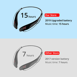 Image 3 - EARDECO Large battery Wireless Headphones Bass Stereo Sport Bluetooth Earphone Headphone with mic Earphones Headset for phone