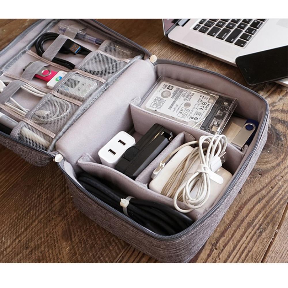 2019 New Travel Universal Cable Drive Organizer Case Electronics Accessories Home Organization Storage Bag Organizer