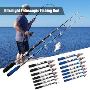 2.4m Zebco Great White GWC 4 Piece Travel Sea Spin Rod 8/'