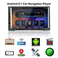 Ezonetronics Android 8,1 автомобильный радиоприемник стерео 7 дюймов ips емкостный экран высокого разрешения, Автомобильная gps навигация дистанционное