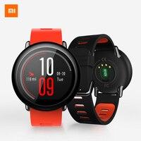 Оригинальный Xiaomi Huami часы глобальная версия AMAZFIT Pace Bluetooth 4,0 спортивные умные часы циркониевой керамики пульсометр
