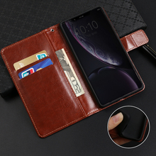 Business style case for Alcatel X1 7053 1X 5059 1C 5009 Shine Lite 5V 5060D fundas wallet flip cover card slots coque capa
