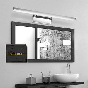 Image 3 - Chinese stijl wastafel wasbak led spiegel koplamp eenvoudige moderne badkamer spiegel blaker lamp AC85 265V