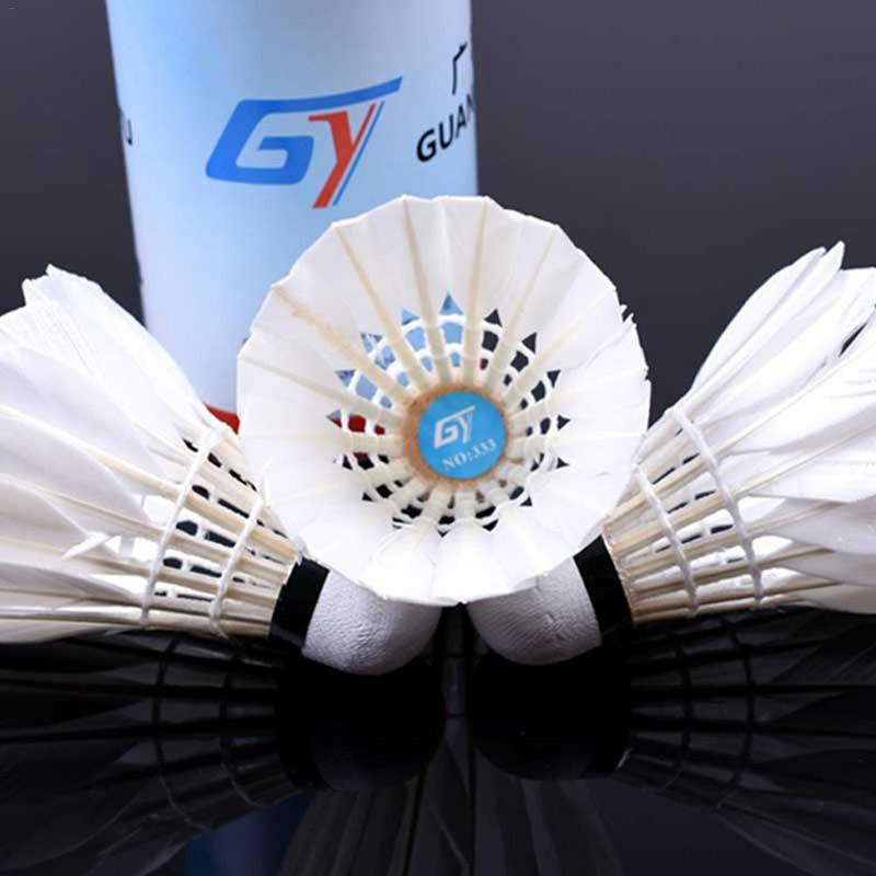 Badminton Weitere Ballsportarten 3pcs Game Sport Training White Duck Feather Shuttlecocks Badminton Ball@PL