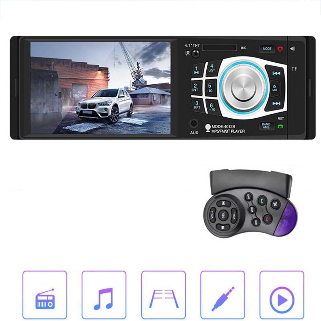 4.1 ''Bluetooth 2 Din voiture MP5 lecteur Auto FM Radio écran tactile TF USB mains libres voiture stéréo vidéo Audio multimédia lecteur 4012B
