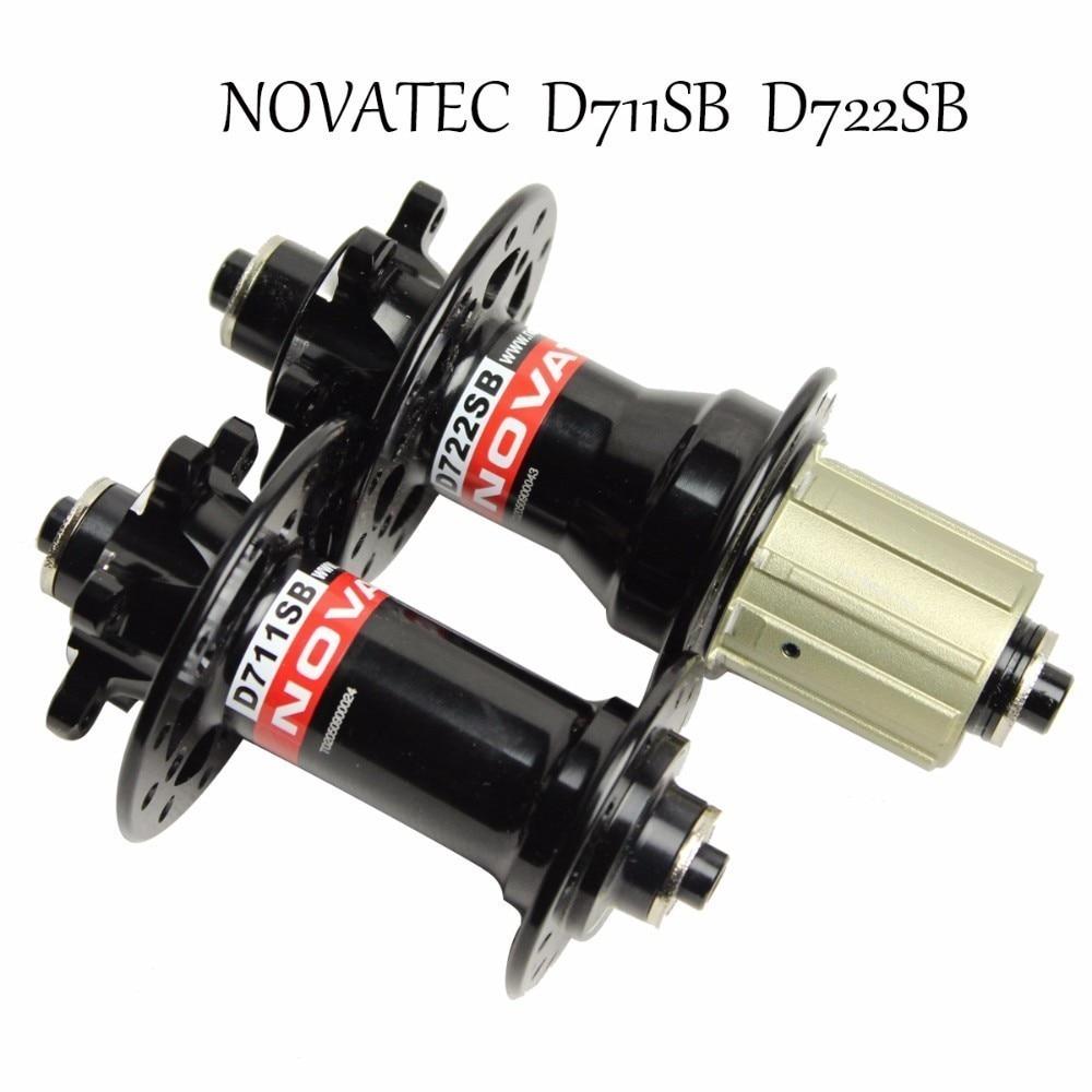 Taiwan Novatec D711SB D712SB moyeu de frein à disque vtt pour VTT 29 ou Cyclocross Graval