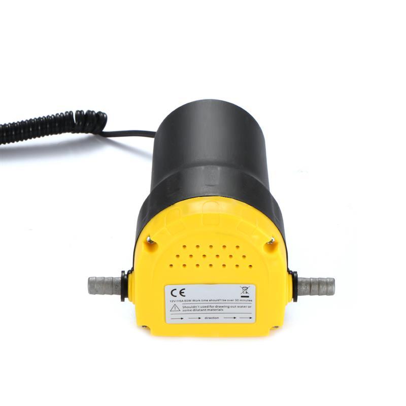 12v//5A Motor Oil Pump Diesel Extractor Scavenge Suction Transfer Change Tool
