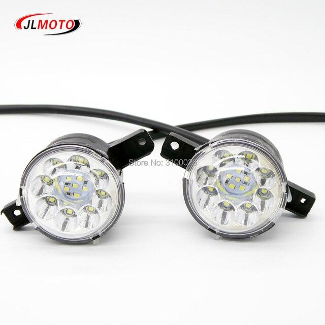 12 v/36 v LED Front LIGHT Voor Jinling Actionbike Nirtro 50cc 110cc 125cc Kids MINI ATV Elektrische Quad bike JLA 07 06 S 12 S 8 Deel
