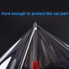 רכב מדבקת 3 שכבות גודל 20*300CM שקוף ויניל מגן סרט PPF אוטומטי פנים בלתי נראה סריטות מגן