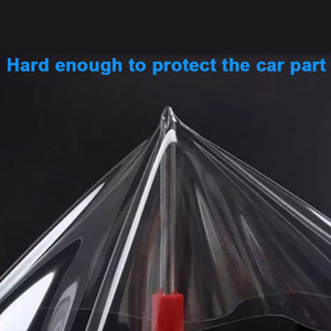 Image 1 - Car Sticker 3 Layers SIZE 20*300CM Transparent vinyl Protective Film PPF Auto Interior Invisible Scratches Shield