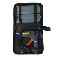 Glue Gun Set Electric Heat Hot Melt Crafts Repair Tool Professional DIY 110 240V 100W with 12 Glue Sticks Gift DIY Craft Tools