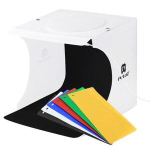 Foldable Portable Photo Mini Light Box Studio Tent Home Photography LED Lights Hot Tabletop Shooting