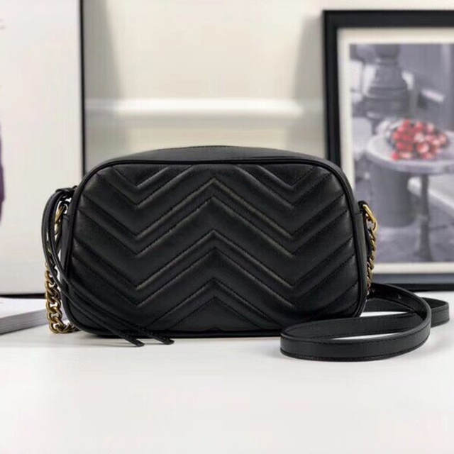1c929f75a880 Online Shop Women real leather shoulder bag Luxury handbags brand designer  purse crossbody bag feminina marmont chain messenger bags soho