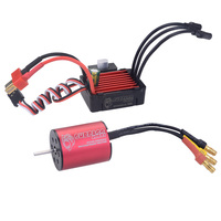 2430 5800kv Waterproof Brushless Motor with 25A ESC Set for 1:16 Sports Car 1:18 RC Model Car