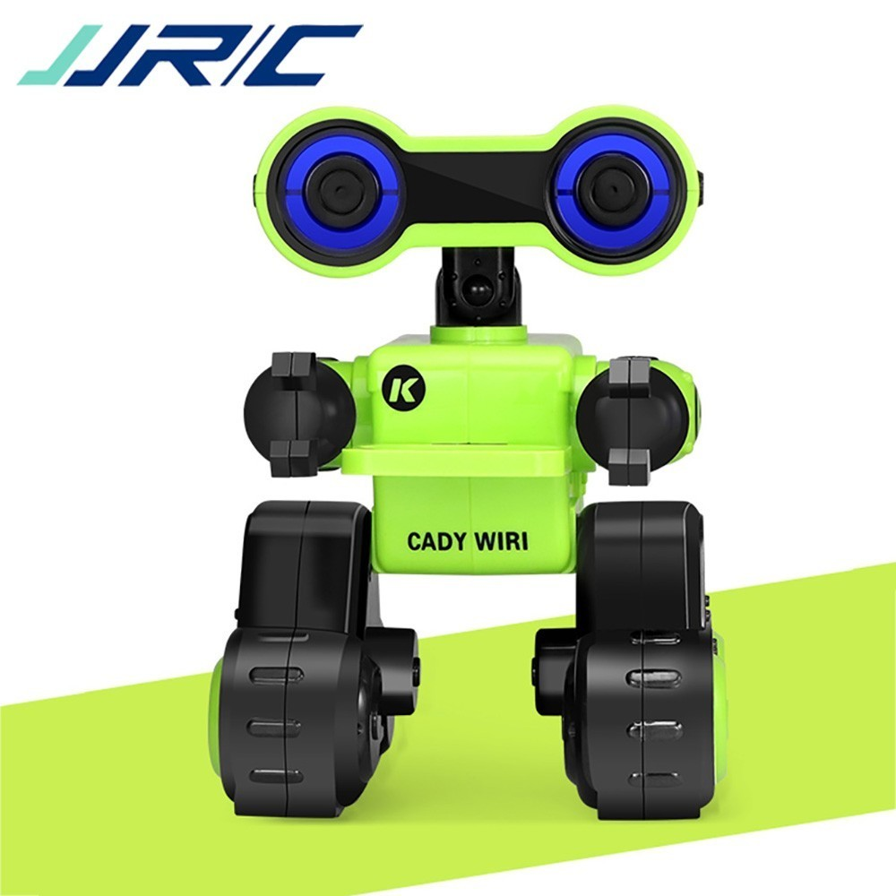 CADY WIRI R13 JJRC RC Robô Inteligente Sensível Ao Toque Programável Controle de Registro de Mensagem de Voz Cantar Dança Robôs de Brinquedo Para Presente Das Crianças VS R4