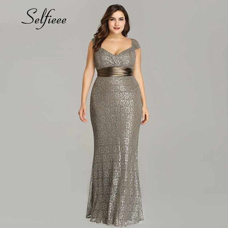 ccc5a94534 Detail Feedback Questions about Plus Size Party Dress 2019 New ...