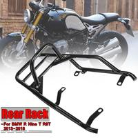 Motorbike Motorcycle Rear Luggage Rack Carrier Motorcycle For BMW R Nine T R9T 2013 2018 With Passenger Grab Handle Bar Handgrip