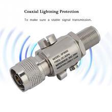 N Мужской к N Женский коаксиальный Lightning стабилизатор напряжения все полосы защиты DC3GHz стабилизатор напряжения