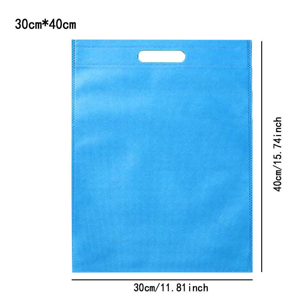 30X40 Cm Nieuwe Herbruikbare Boodschappentas Canvas Stof Zakken Opvouwbare Boodschappentas Voor Promotie/Gift/Schoenen /Chrismas Kruidenier Shopper Tassen