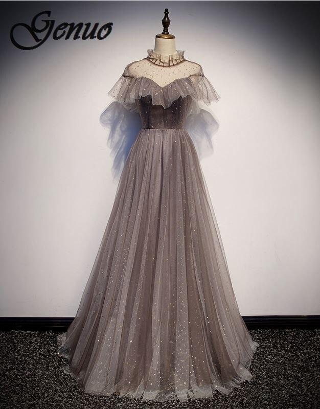 2019 vrouwen Mode Vintage Losse Grote Werven Nationale Wind Linnen Katoenen Jurk Hoge Kwaliteit Casual Kleding Vrouwelijke-in Jurken van Dames Kleding op  Groep 1