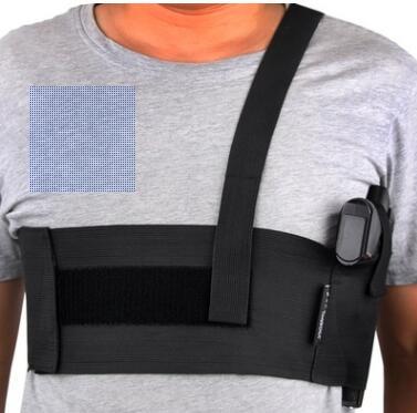 Tactical Armpit Band Pistol Holster Universal Abdominal Waist Holster Handgun Pouches Deep Concealment Shoulder Holster